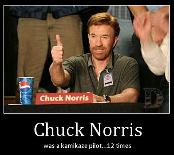 Chuck Norris kamikaze