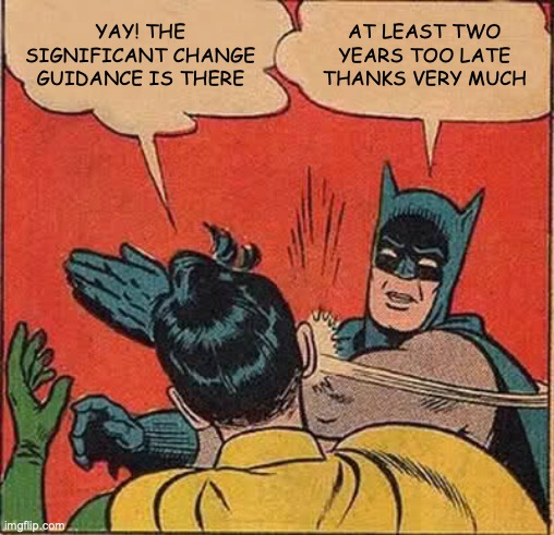 Batman slap significant change