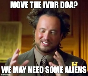 IVDR aliens
